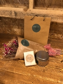 Dried Flower Wrap Gift Set